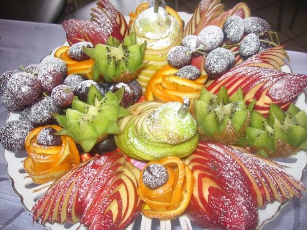 Фруктовые нарезки на праздничный стол и рецепты