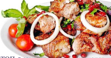 Маринад для шашлыка из свинины: ТОП-5 самых вкусных маринадов, чтобы мясо было мягким и сочным