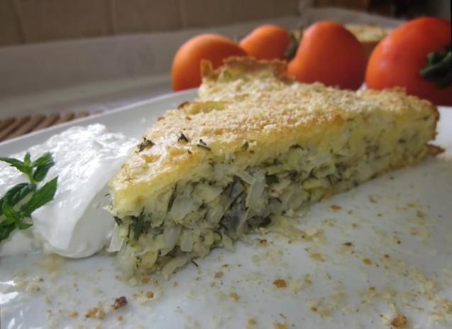 Заливной пирог с капустой на скорую руку рецепт