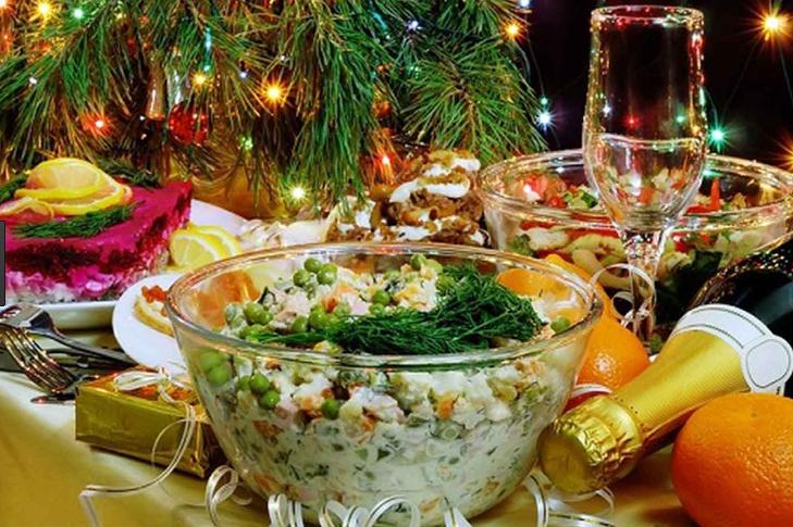Меня для новогоднего стола 2018 рецепт