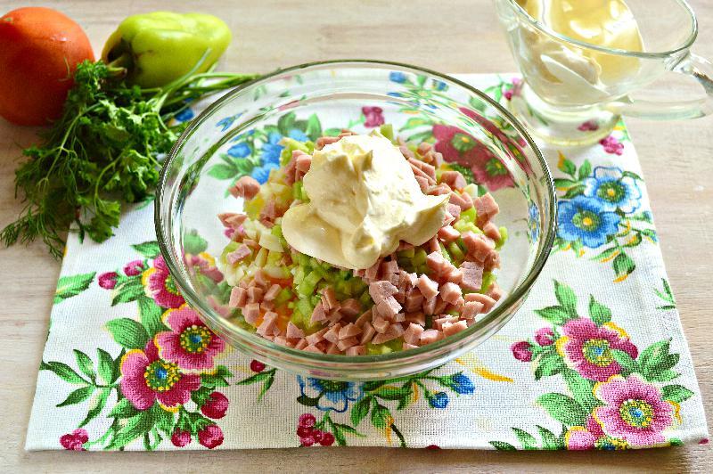 Рецепты вкусных салатов на новый год с фото.
