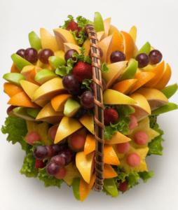 Мастер класс красиво подать фрукты на стол 23