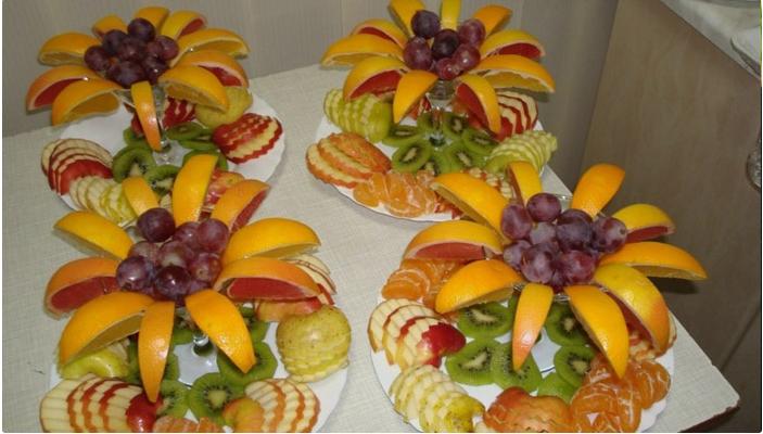 Простые рецепты канапе из фруктов