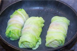 Голубцы с пекинской капусты
