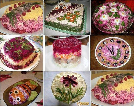 Классический салат Селедка под шубой – пошаговые рецепты, правильный состав ингредиентов, последовательность слоев, фото блюда