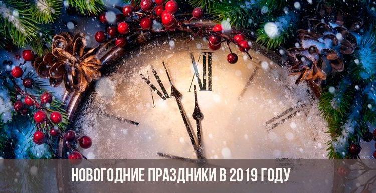 Как отдыхаем в январе 2020 в России: календарь официальных выходных