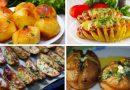 Запеченная картошка в духовке — простые рецепты — как вкусно запечь картофель