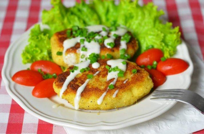 Картофельные зразы с грибами — пошаговый рецепт приготовления на сковороде