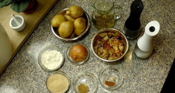 Как приготовить зразы из картофеля с грибами