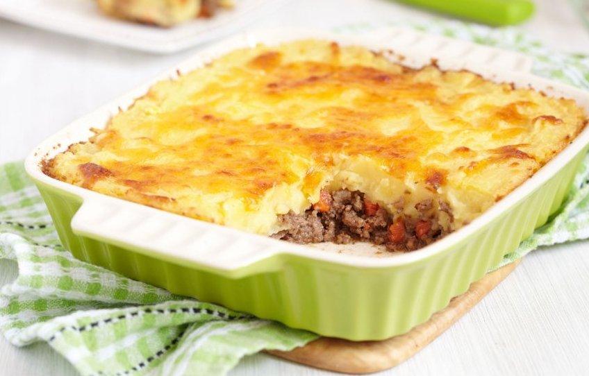 Картофельная запеканка с фаршем в духовке — пошаговые рецепты мясной запеканки