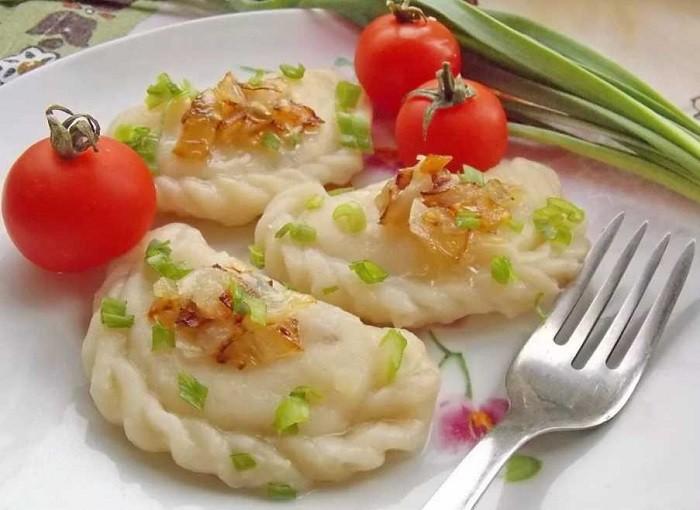 Вареники с картошкой — очень вкусные пошаговые рецепты