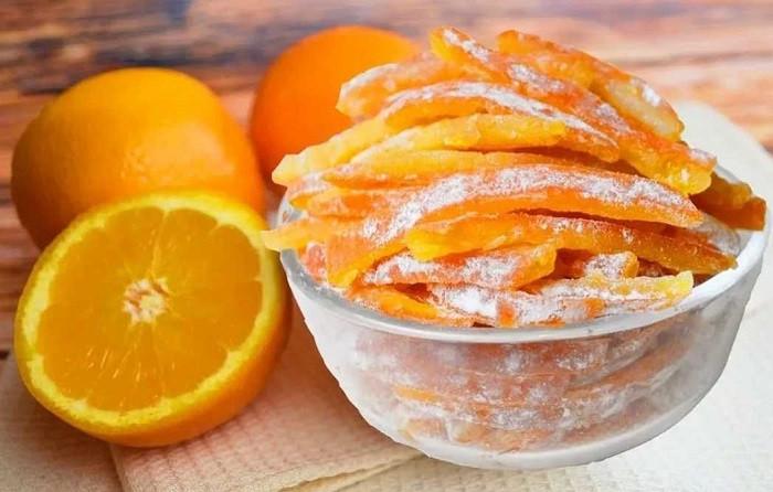 Цукаты из апельсиновых корок - быстрые рецепты в домашних условиях