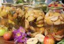 Компот из яблок на зиму на 3 литровую банку — простые рецепты