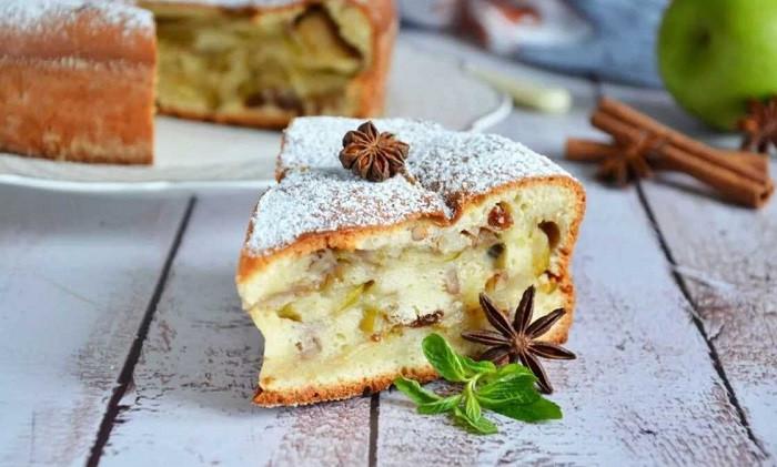 Шарлотка с яблоками — классические рецепты яблочной шарлотки