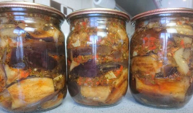 Баклажаны на зиму - лучшие рецепты