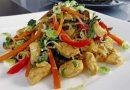 Фунчоза с курицей и овощами — простые рецепты с пошаговым приготовлением